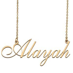 Custom Personalized Alayah Name Necklace